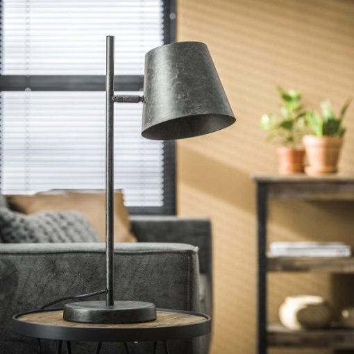 Metalen sfeervolle tafellamp