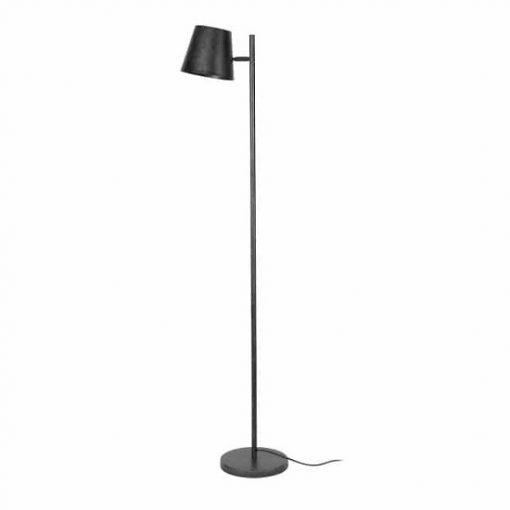 Metalen verstelbare vintage vloerlamp