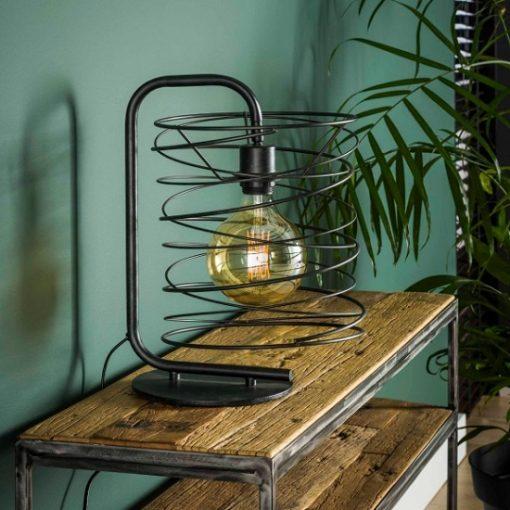 Tafellamp industrieel speels design
