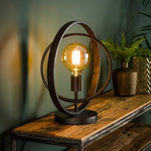 Tafellamp industrieel vintage interieur