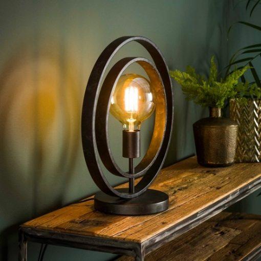 Tafellamp industrieel vintage licht