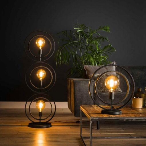 Tafellamp industrieel vintage modern
