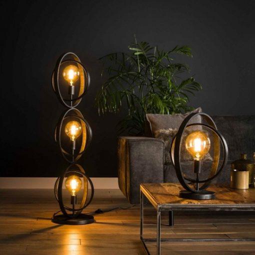 Tafellamp industrieel vintage sfeer