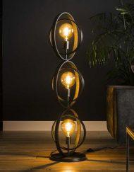 Vloerlamp metaal sfeervol interieur design