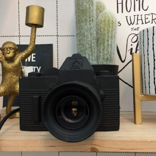 Camera lamp zwart