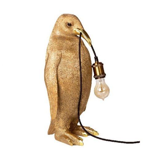 Lamp pinquin goud trend