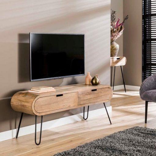 TV meubel mango hout