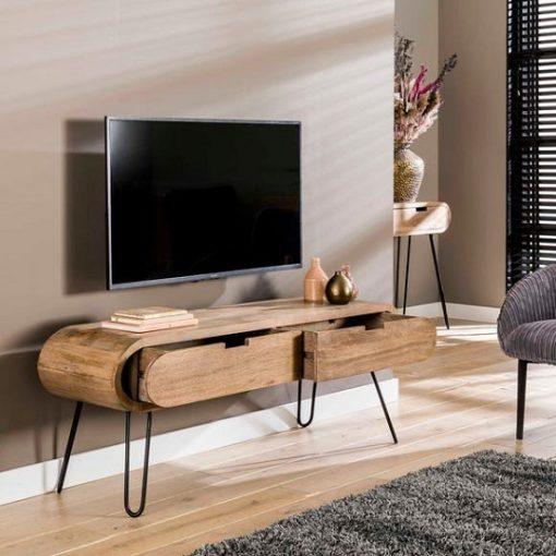 TV meubel mango hout industrieel