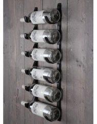 Wijnrek metaal 6 flessen