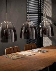 Hanglamp geschaduwd sfeervol vintage glas
