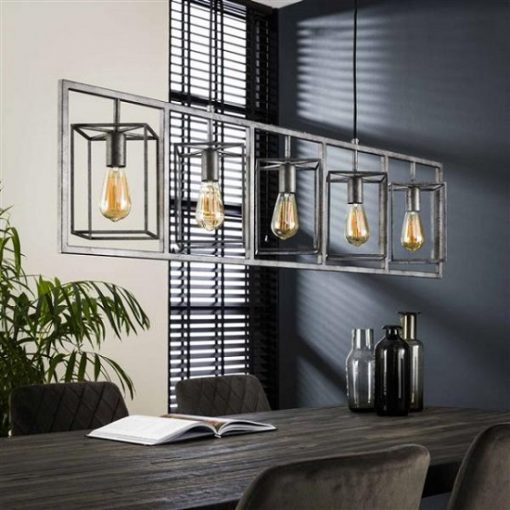 Hanglamp vintage metaal trendy