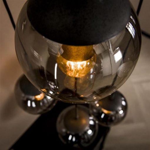 Hanglamp gerookt glas verlichting