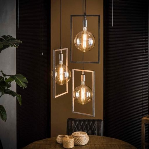 Hanglamp rechthoekige frame