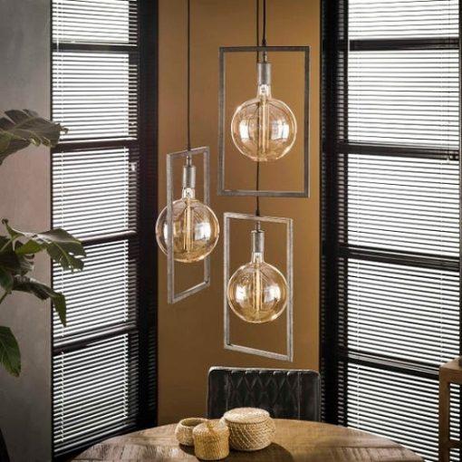 Hanglamp rechthoekige frames