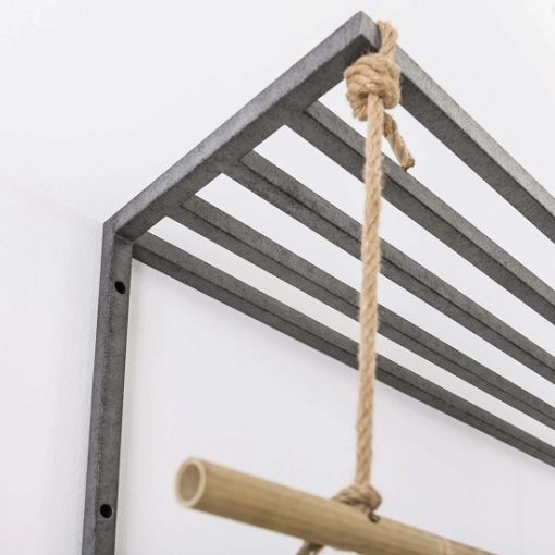 Bamboe kapstok wand hout