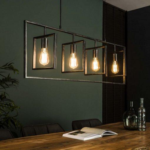 Design hanglamp industrieel zwart