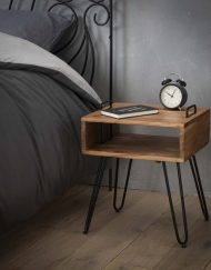 Nachtkastjes industrieel houten