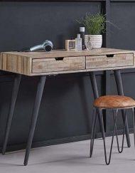 Sidetable industrieel bureau houten