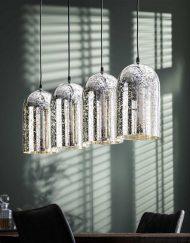 Hanglamp goud metallic sfeer