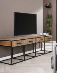 TV-meubel vier laden