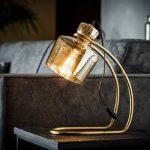 Tafellamp glas sledepoot