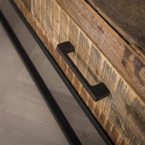 Tv-meubel gerecycled hout robuust