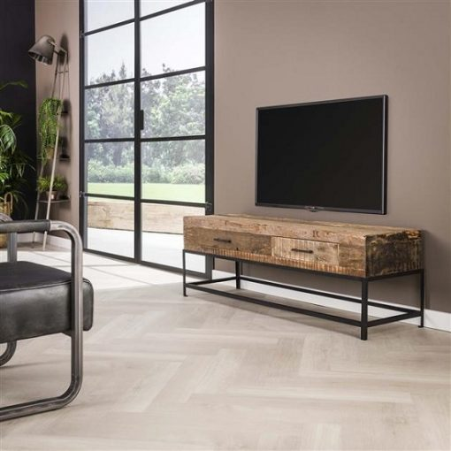 Tv-meubel gerecycled hout vintage