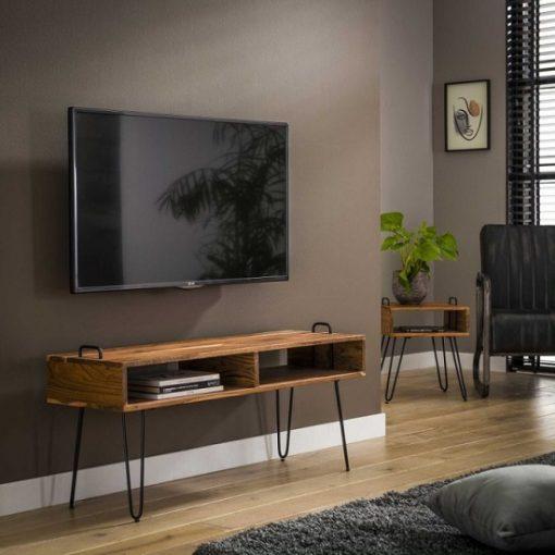 Tv meubel industrieel open vakken