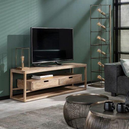 Tv-meubel industrieel sfeervol